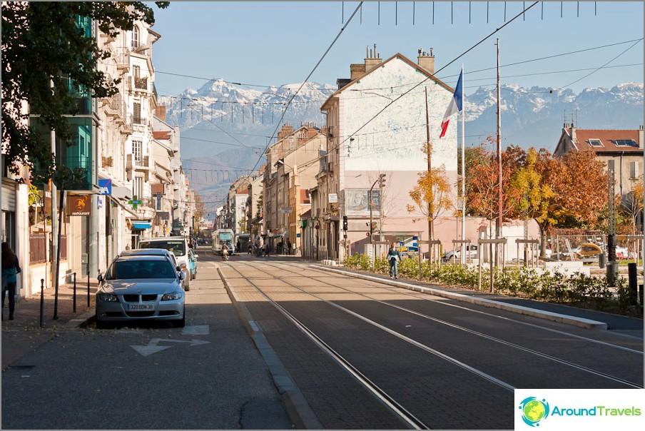 Grenoble ja Ranskan vuoret