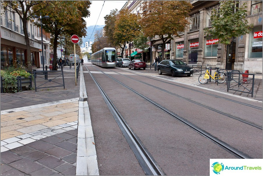 Grenoble raitiovaunu