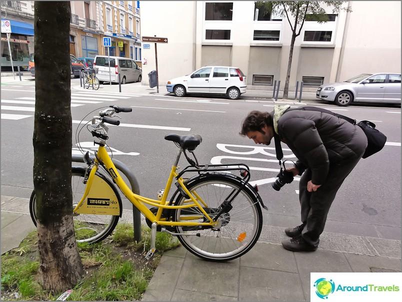 Polkupyörän vuokraus Grenoblessa