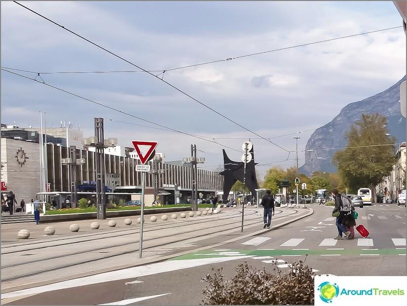 Grenoblen rautatie- ja linja-autoasema
