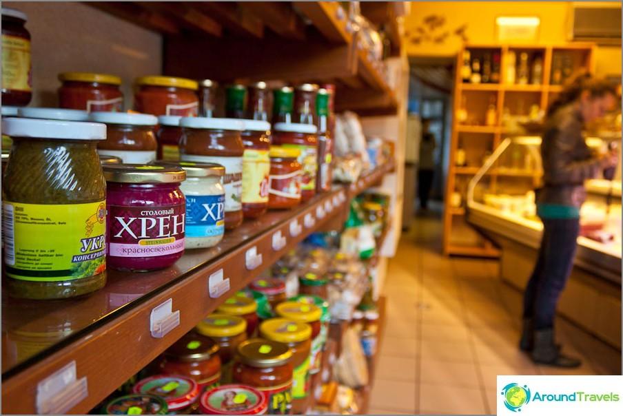 Venäläinen myymälä Grenoblessa