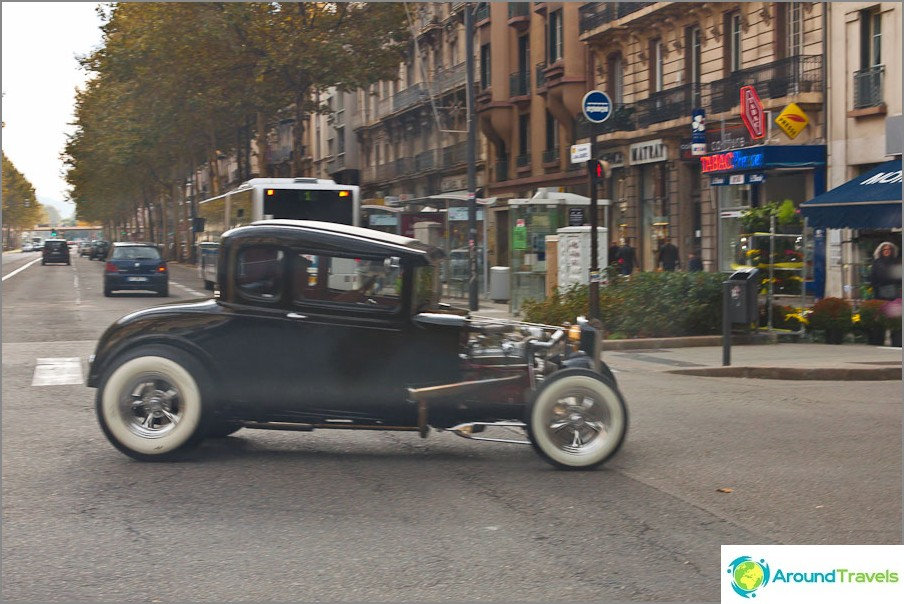 Grenoblen kadulla voit tavata tällaisen viehätysvoiman