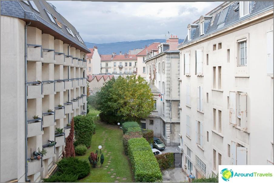 Nämä ovat Grenoblen pihat
