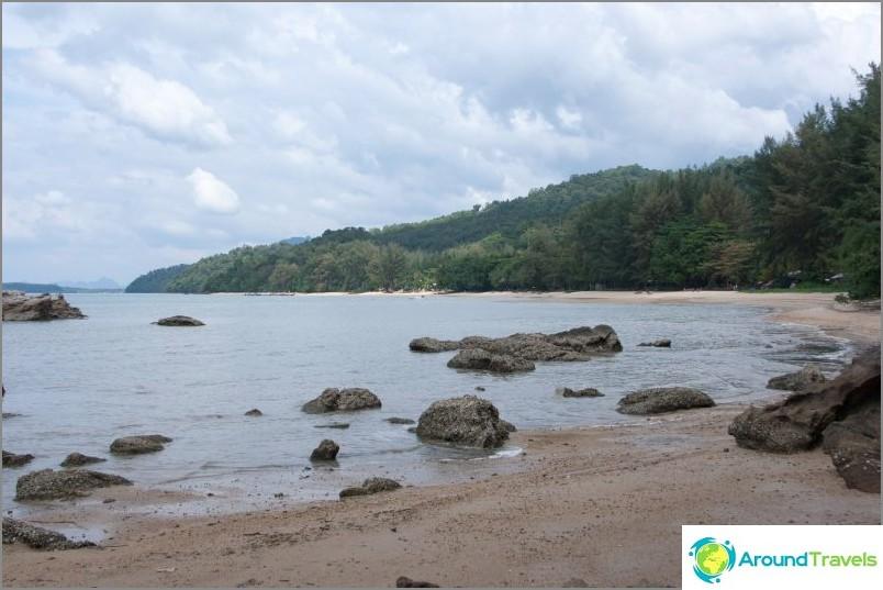 Kylpyamme Kaek Beach, Krabi