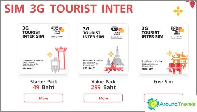 Sims 3G Tourist Inter