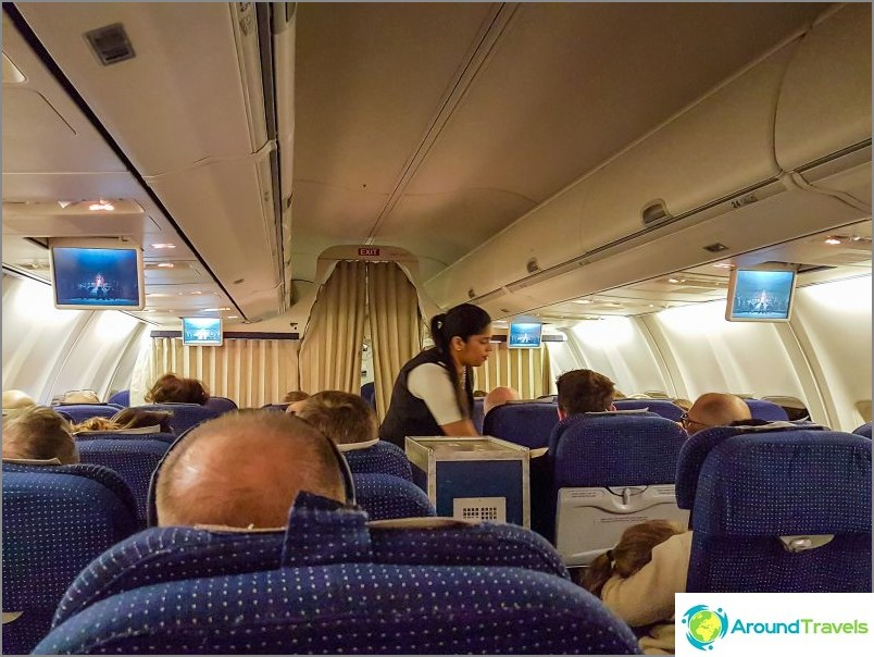 Полет в близката кабина на Ел Ал