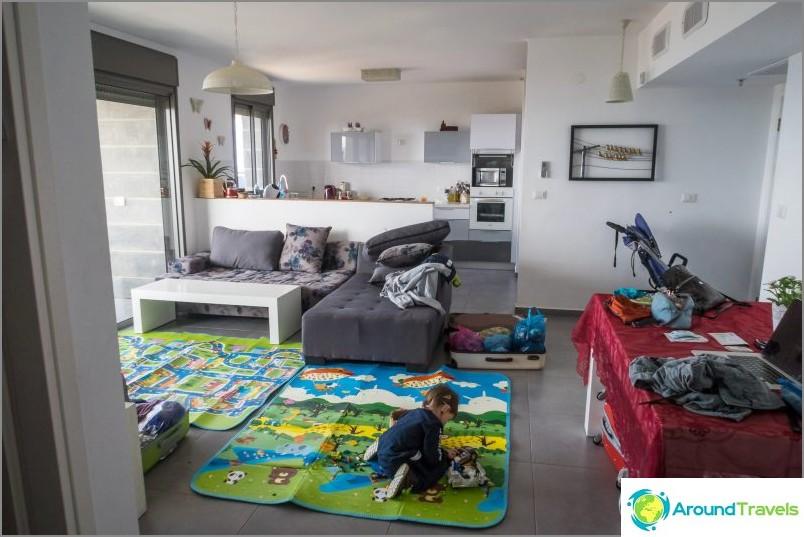 Страхотен апартамент в Хайфа за 150 долара