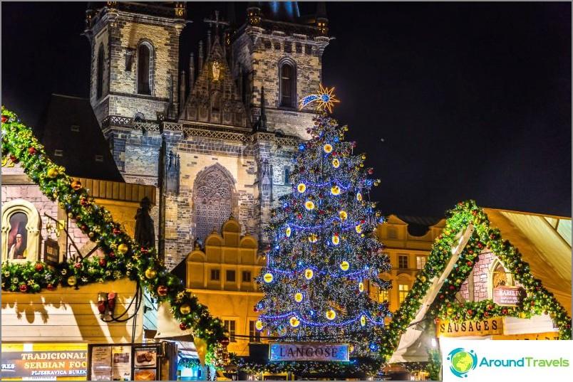 Uusi vuosi Praha