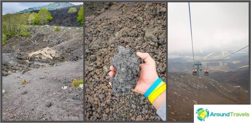 Noin yksi jatkuva vulkaaninen laava