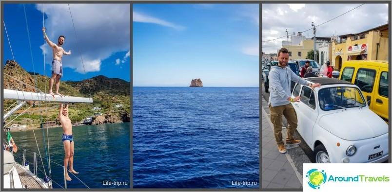 Kuinka menin veneellä Italiassa - vuokrahinnat ja matkasuunnitelma