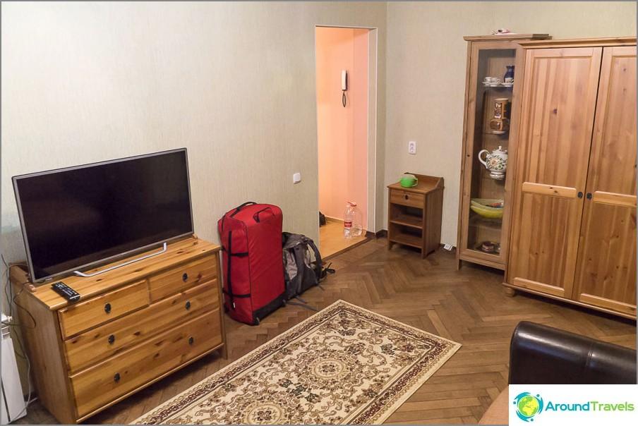 Първата стая от различен ъгъл