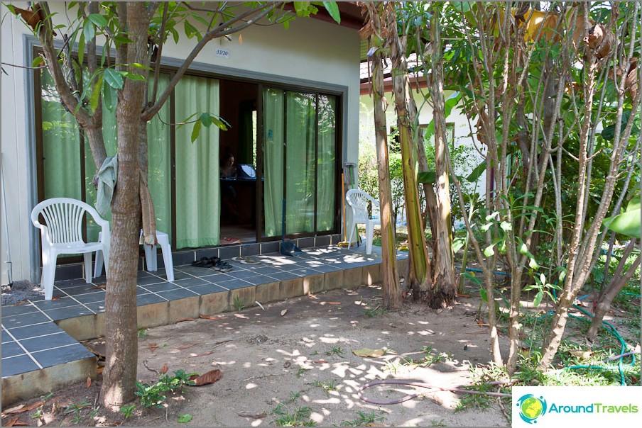 Talomme Phuketissa - sisäänkäynti
