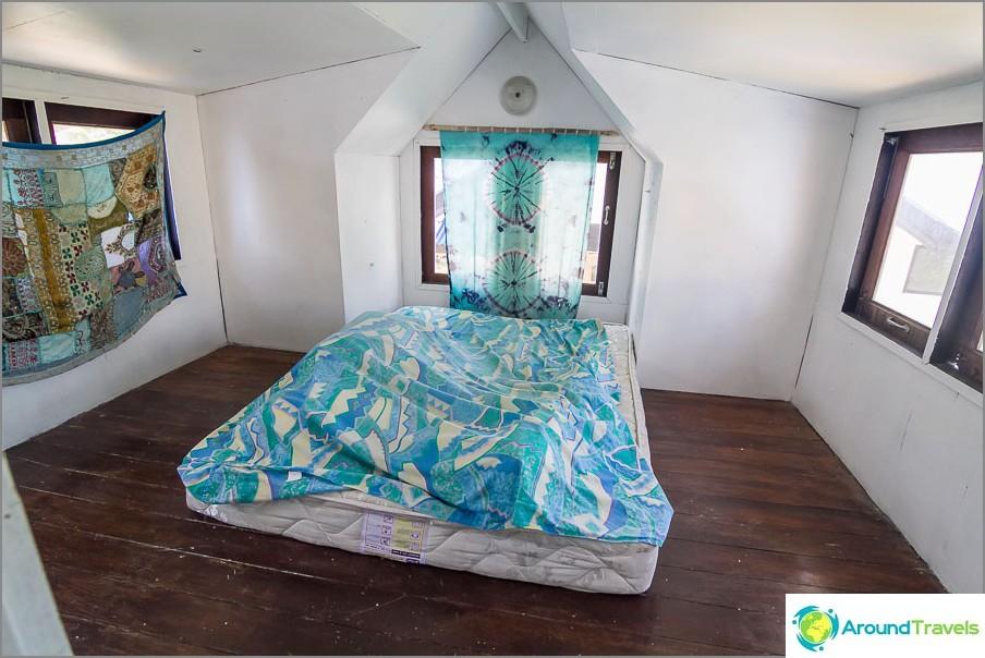 Спалня за любителите на топлината