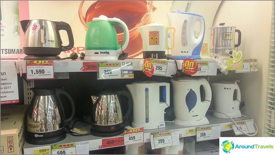 Чайници да избирате от 300 rub
