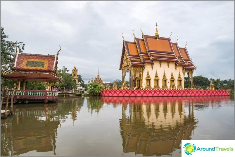 Kompleksin keskeinen rakennus on Play Laem -temppeli