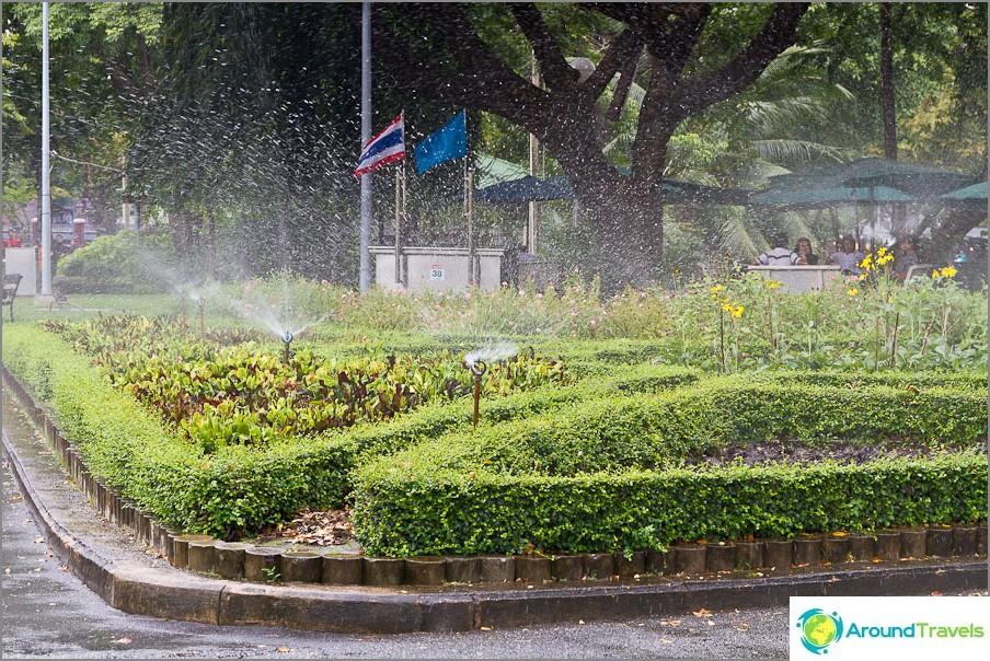 Lumpini Park Bangkokissa