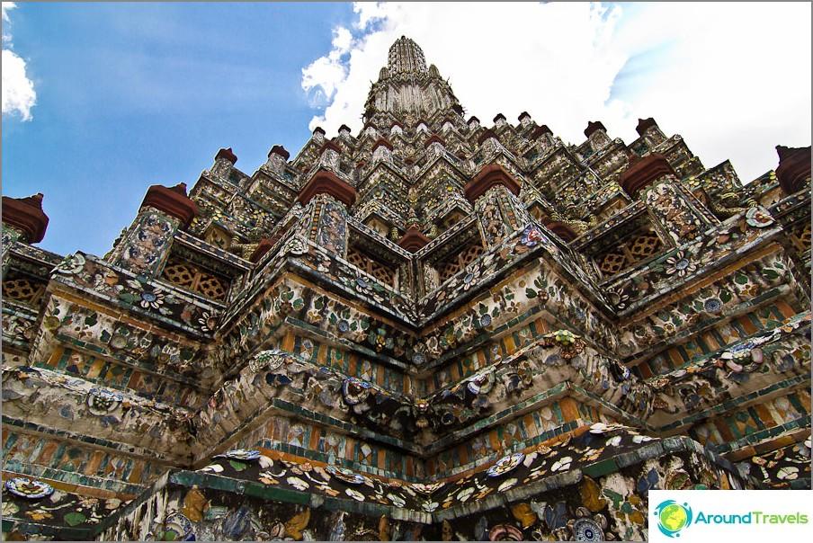 Wat Arun -temppeli Bangkokissa