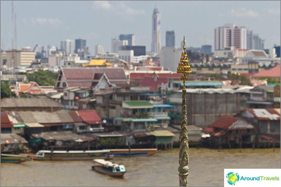 Näkymä Bangkokista korkeudesta