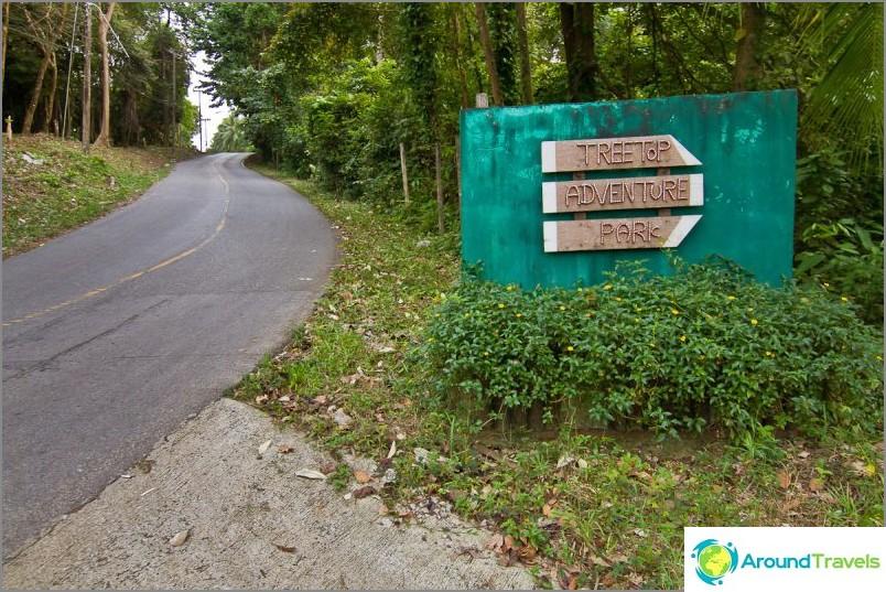 Ota Tree Top Adventure Park käyttöön