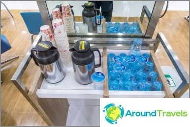 Безплатна вода, кафе и чай