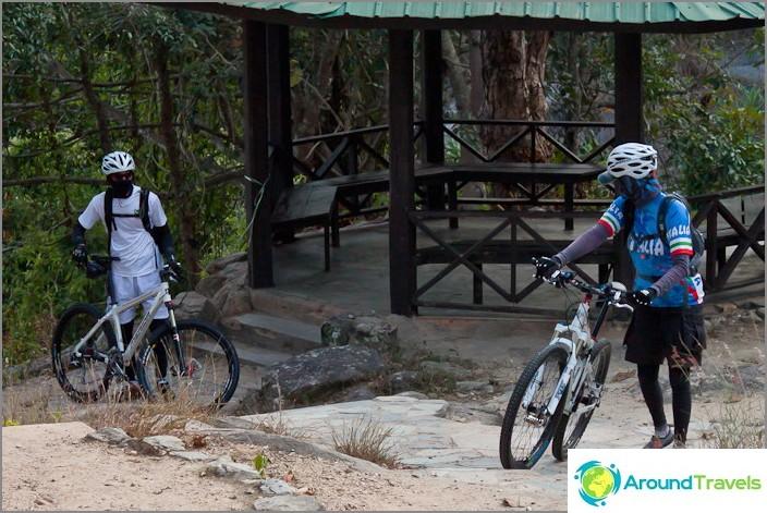 Pyöräilyninjat rakastavat myös luontoa