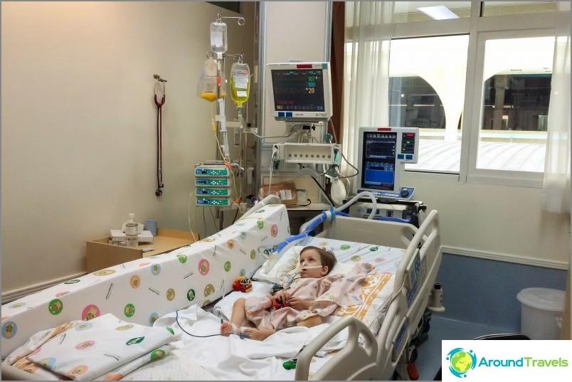 Voimahoitoyksikkö Samitivej-sairaalassa