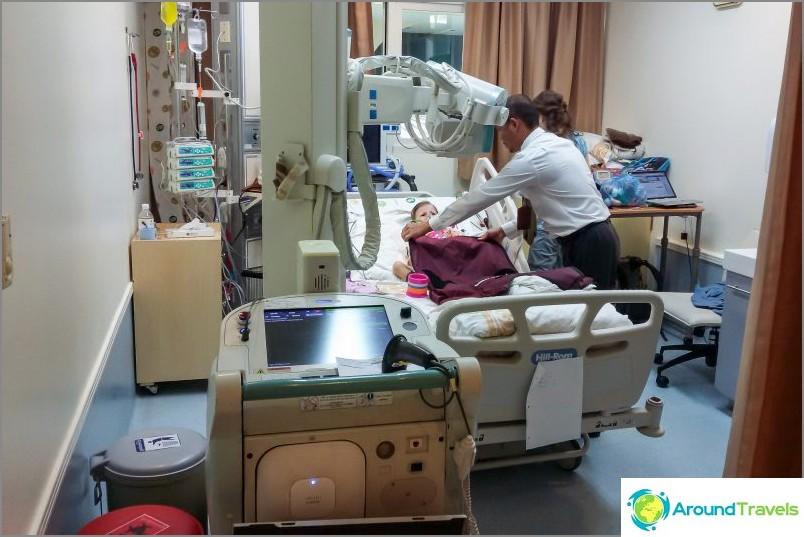 Liikkuva röntgenkuvaus on erittäin kätevä asia