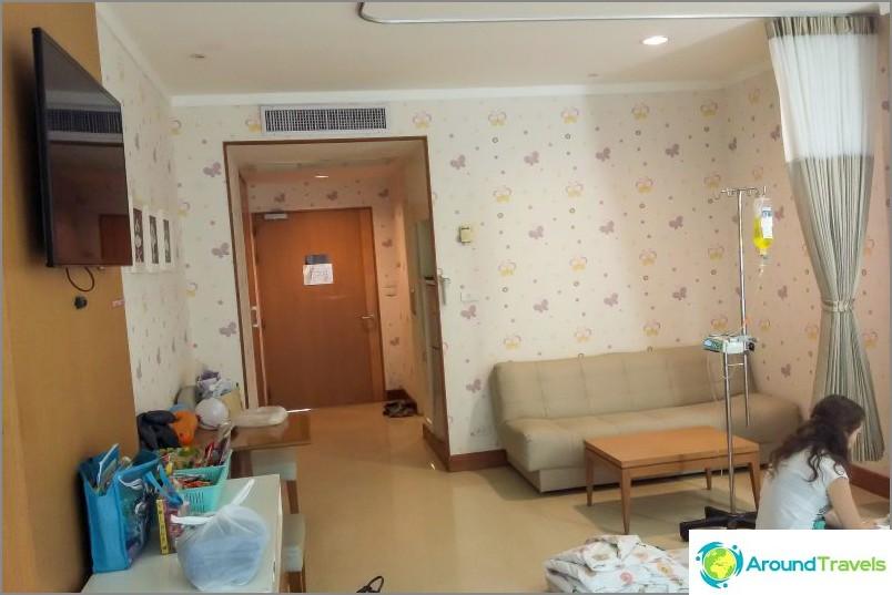 Osastolla Samitivej Sukhumvit -sairaalassa