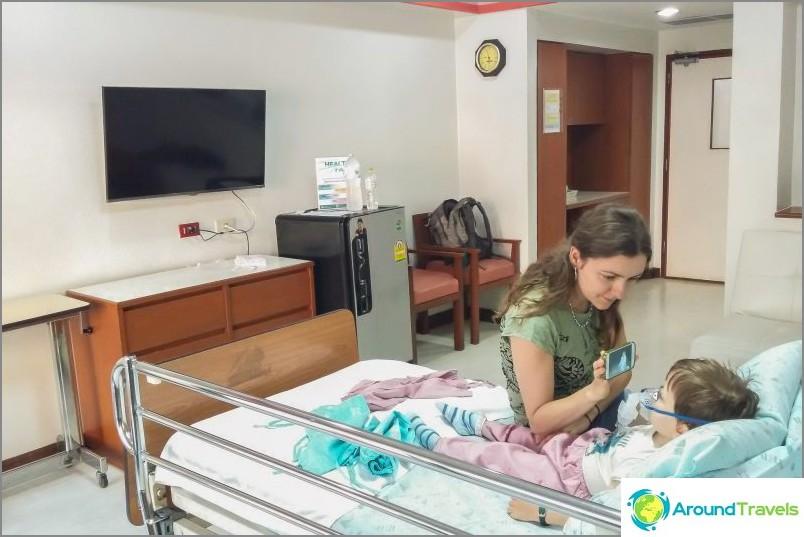 Sairaalan osasto Phuket International