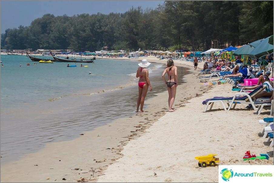 Плаж Банг Тао Юг