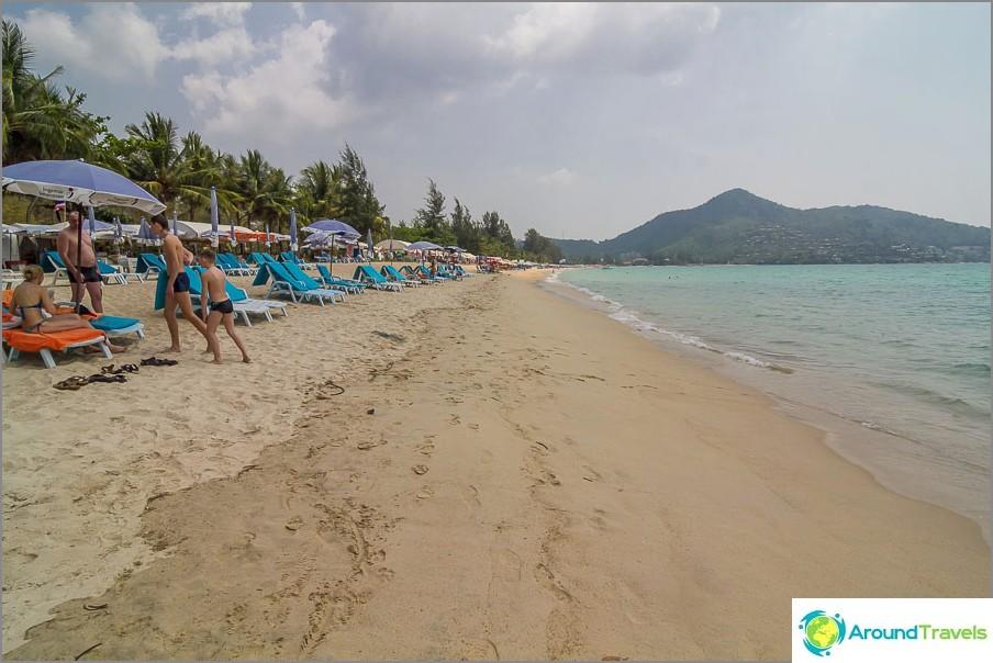 Плаж Камала на север