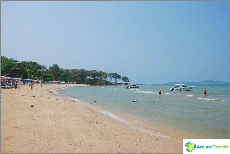 Kaikki Pattayan rannat ja lomakohteen parhaat rannat - kuvaus henkilökohtaisesta kokemuksesta