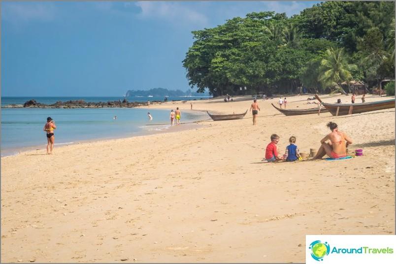 Rentoudu rannalla, Koh Lanta