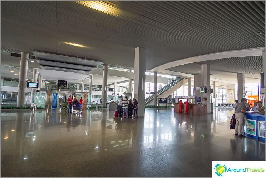 Lentokenttä Krabi