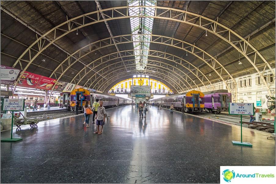 Rautatieasema bangkokissa