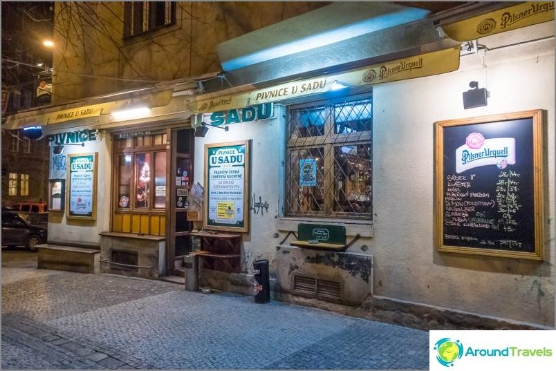 Ravintola U Sadu, Praha