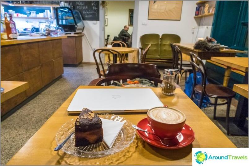 Kahvila Zizkavarna Prahassa