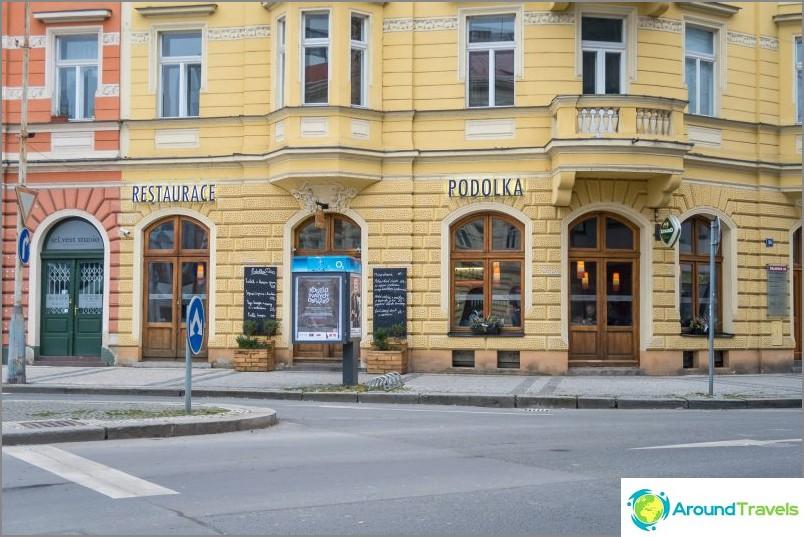 Ravintola Podolka Prahassa