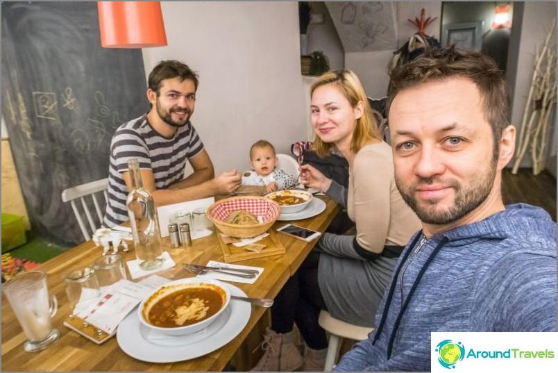 Ravintola Podolka Prahassa - en toisen kerran en tule