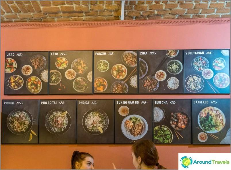 Pho Vietnam - vietnamilainen ravintola Prahassa