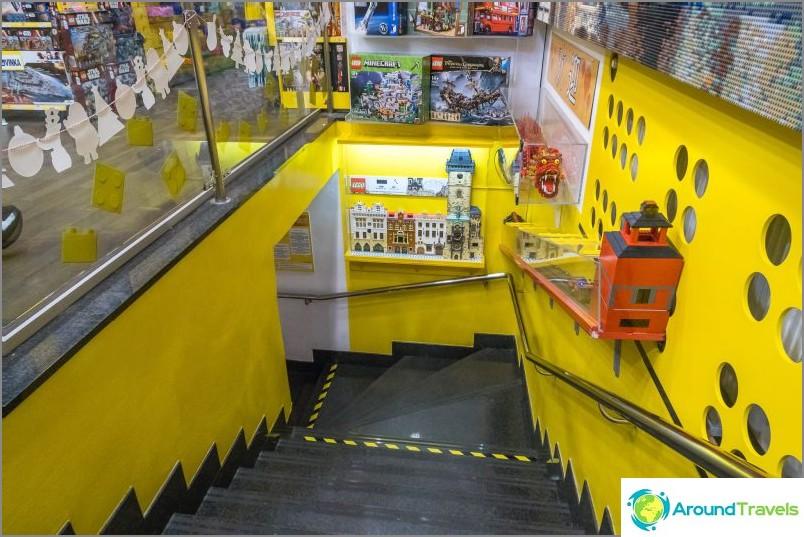 Legon museo Prahassa - voit katsella, et voi koskea