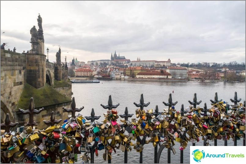 Kaarlen silta - jos et nähnyt häntä, et ollut Prahassa