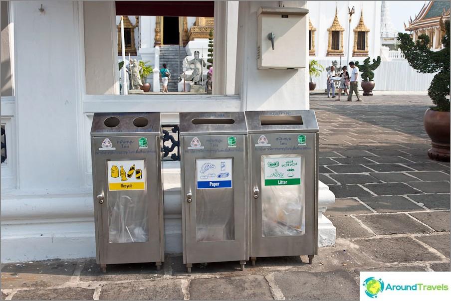 Jätehuolto Thaimaassa