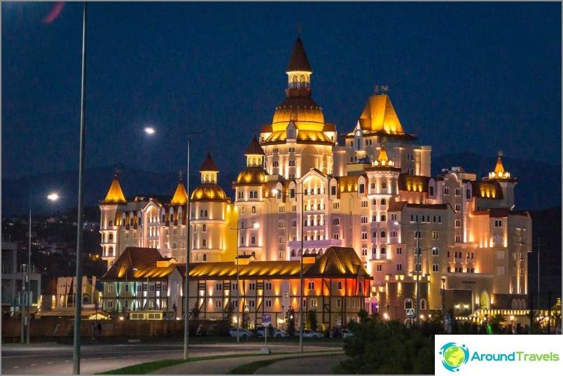 Hotel Bogatyr Sochi Parkissa