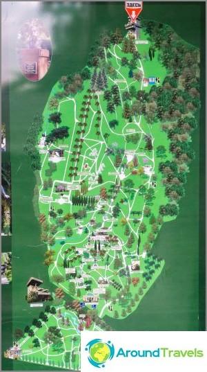 Карта Arboretum (с възможност за кликване)