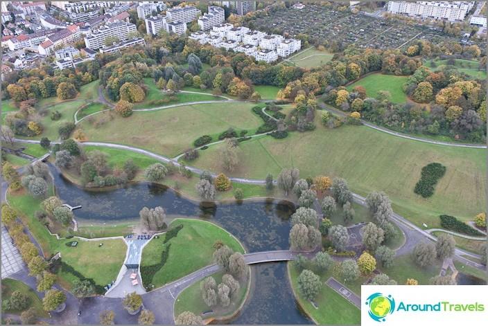 Олимпийски парк в Мюнхен