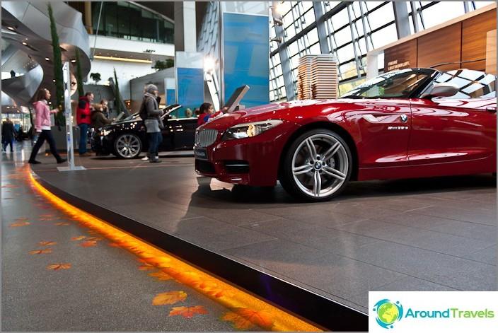Salonki BMW Welt