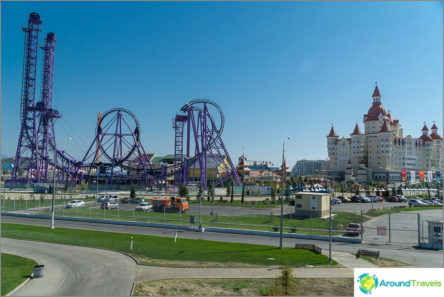 Voidaan nähdä huvipuisto Sochi Park