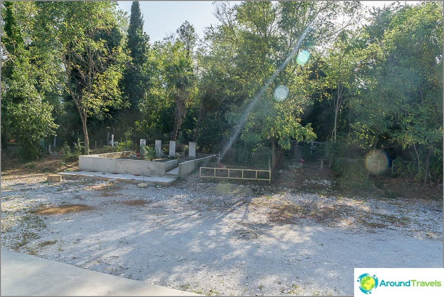 Vanhanalaisten hautausmaa aivan olympiapuiston keskustassa