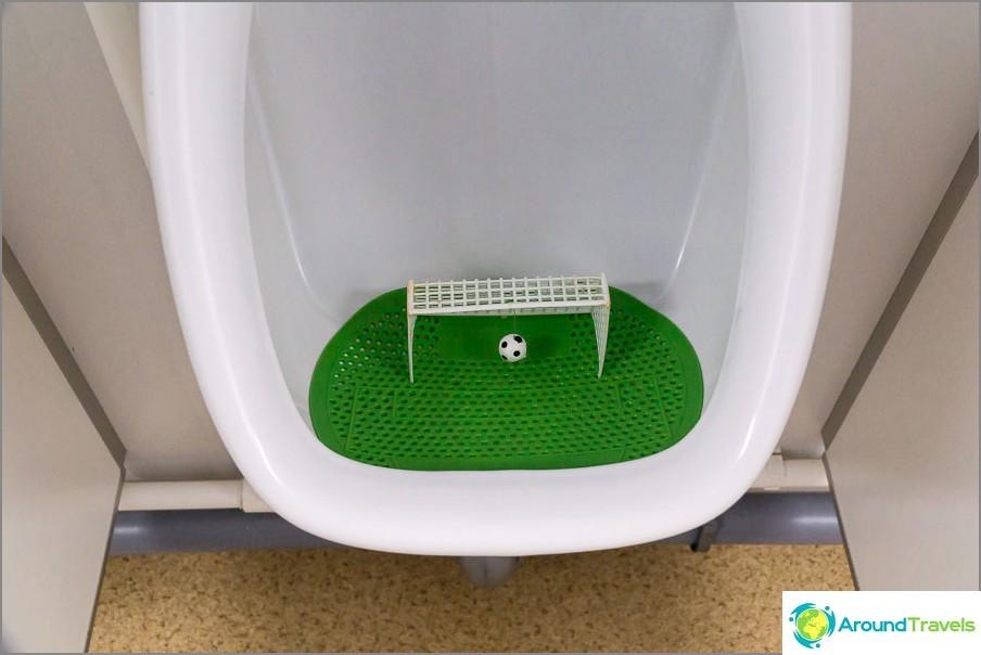 WC jalkapallo-faneille, yritä tehdä maali